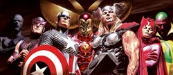 Assemble Deluxe by Marvel - Deluxe Box Canvas sized 60x26 inches. Available from Whitewall Galleries